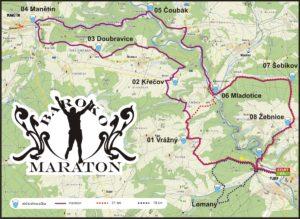 Hlavní běhy Barokomaratonu